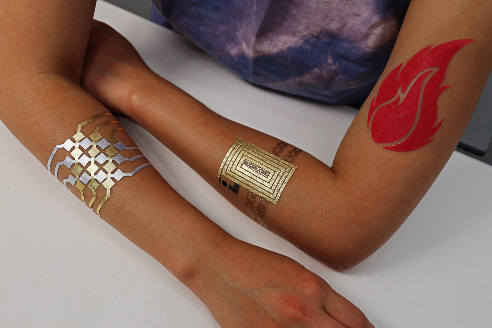 DuoSkin temporary tattoos