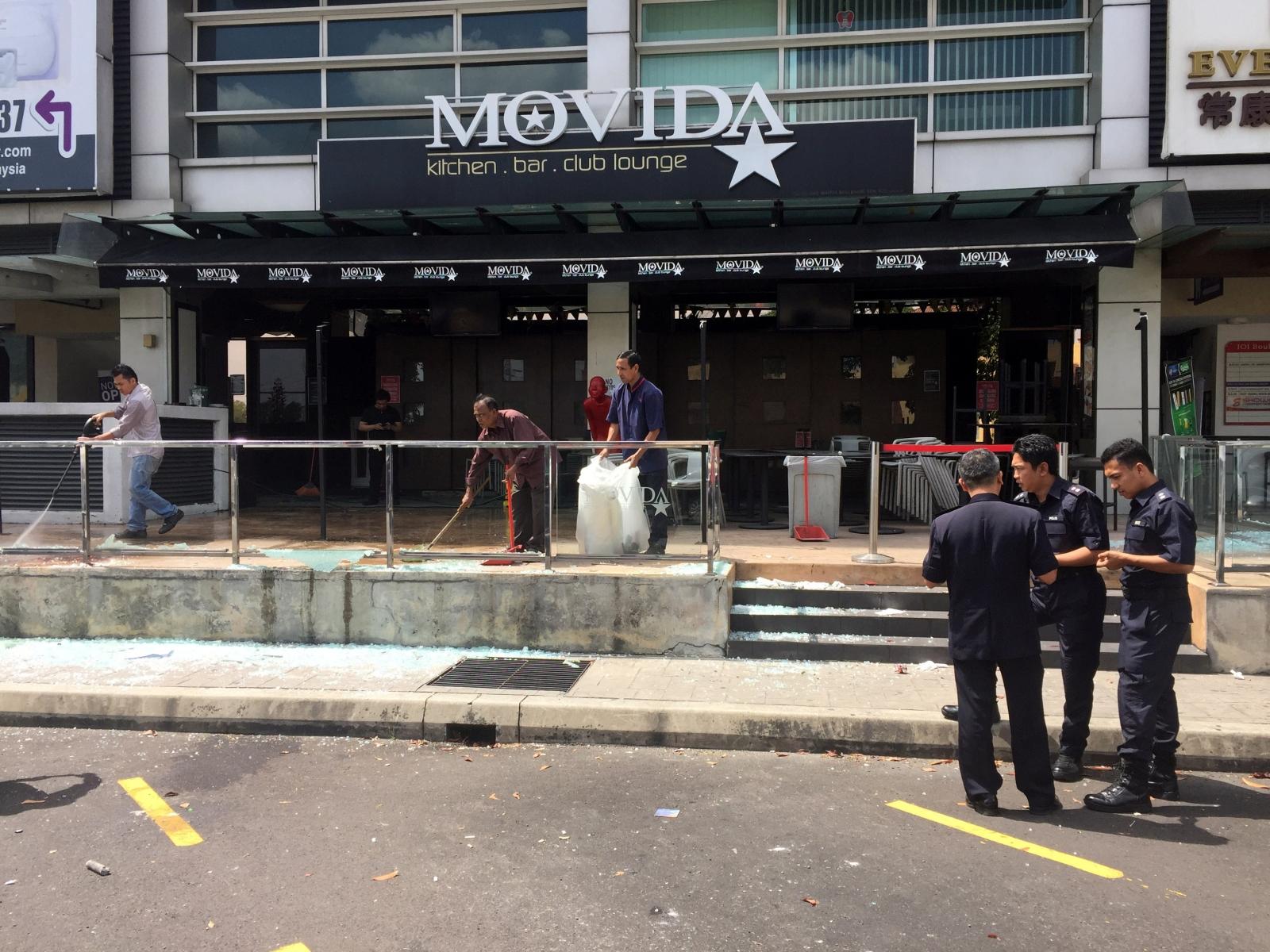 Malaysia bar attack