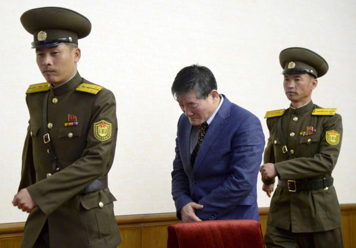 North korea detention