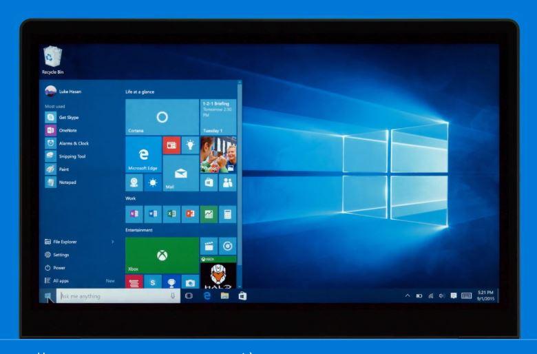 Windows 10 Anniversary Update dark theme