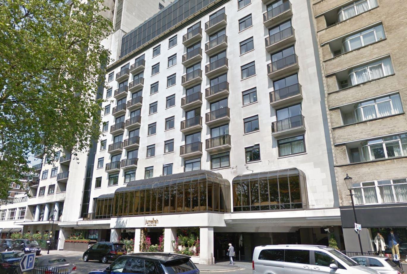 Jumeirah Carlton Tower Hotel Knightsbridge London