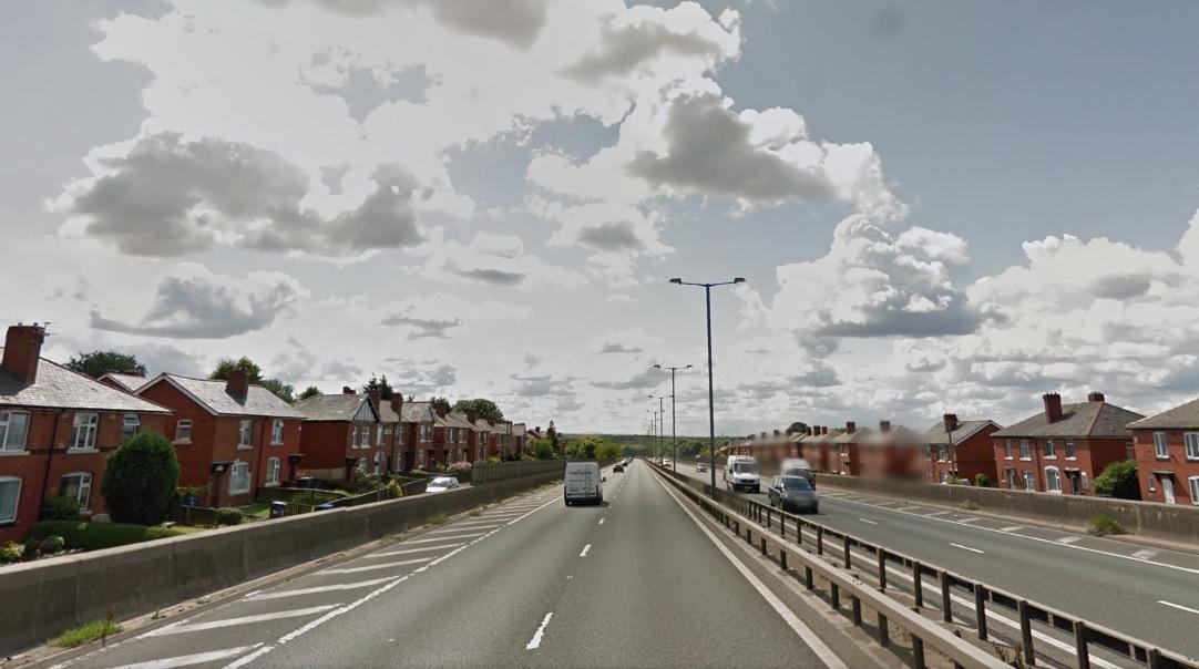 Man dies after being struck by cars on motorway