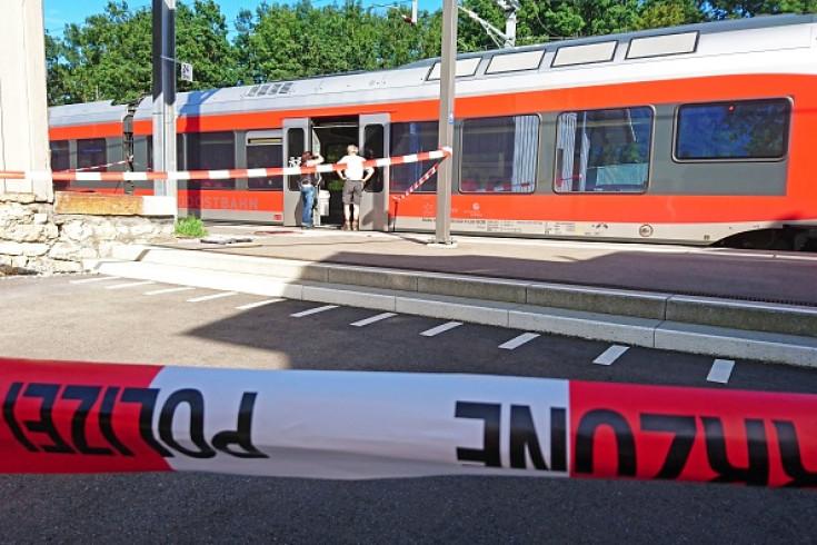 Swiss train knife attack