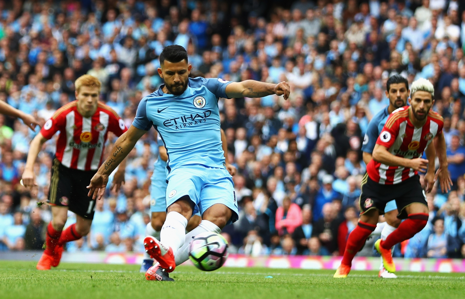 Manchester City new boy Nolito 'proud' to pair up with Sergio Aguero