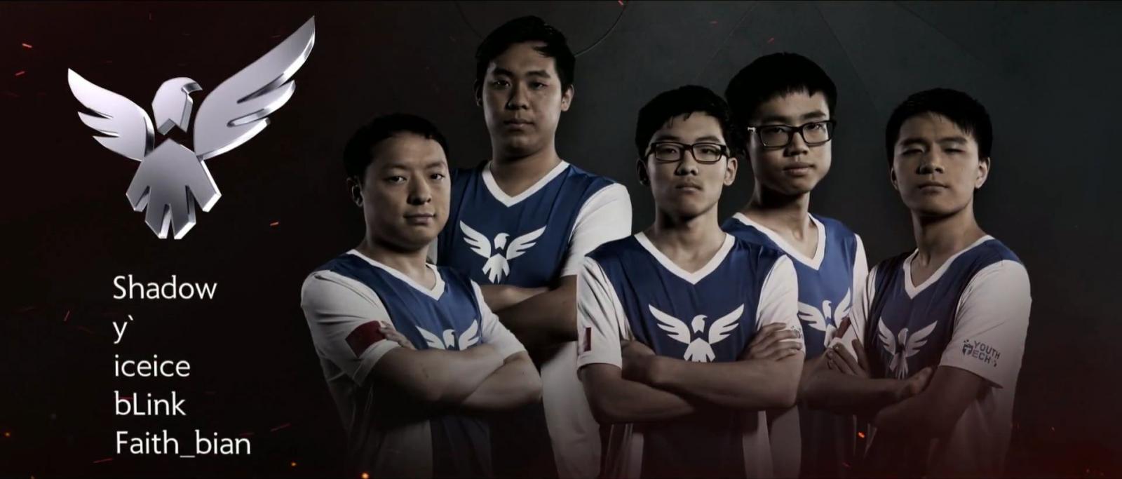 Wings Gaming Dota 2 TI6 Champions