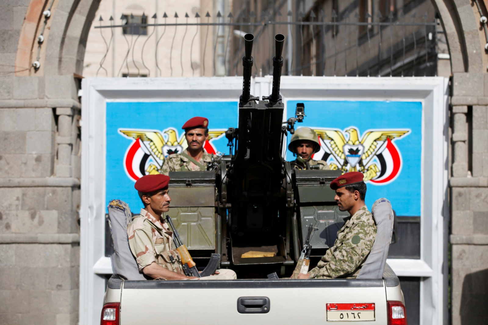 Yemen parliament security