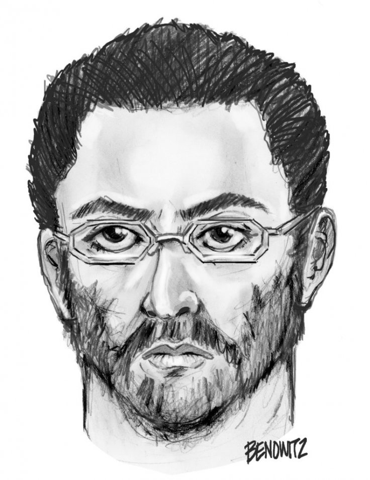 NYPD sketch of imam shooting suspect