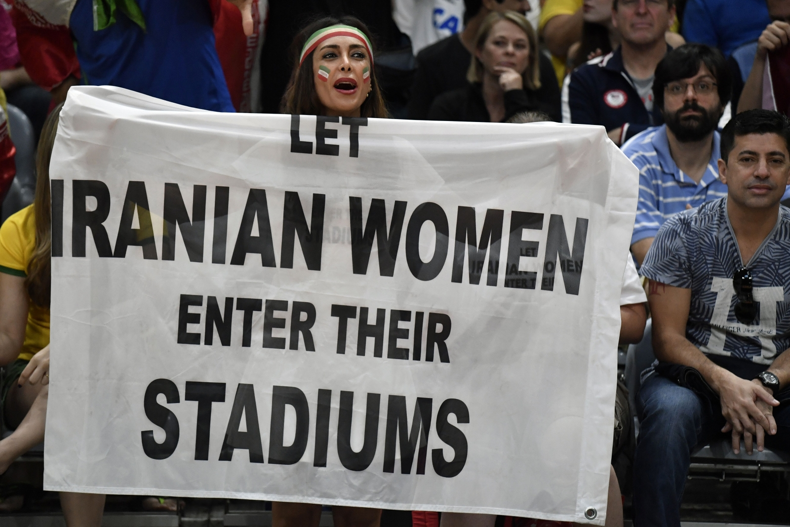 Let Women Enter Their Stadiums