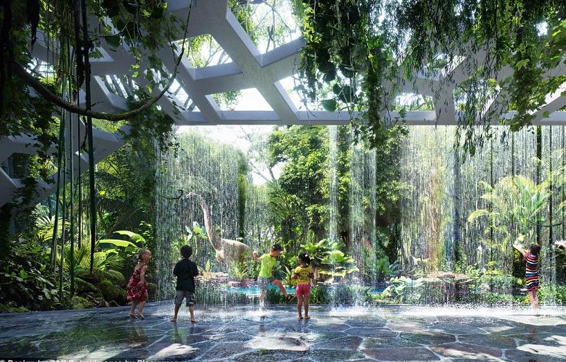 Dubai Hotel with rainforest