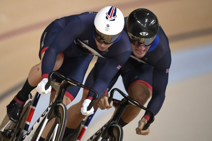 Jason Kenny and Callum Skinner