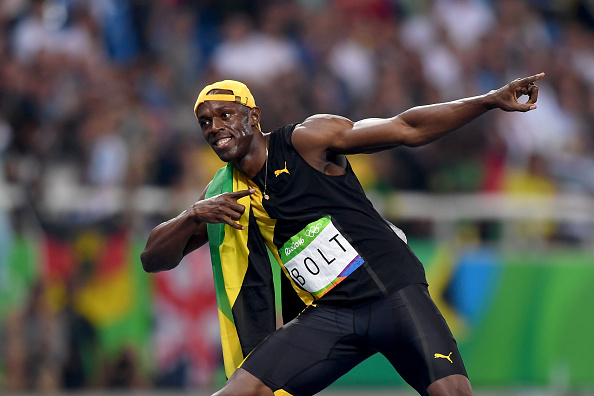 Usain Bolt wins historic 100m gold at Rio 2016 Olympics ...