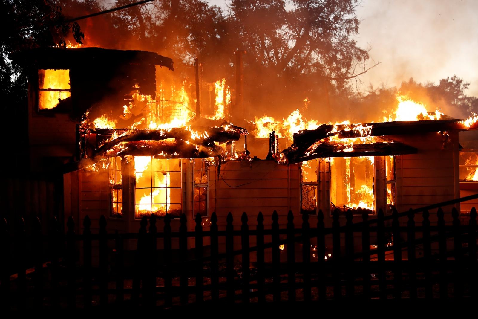 California Clayton fire