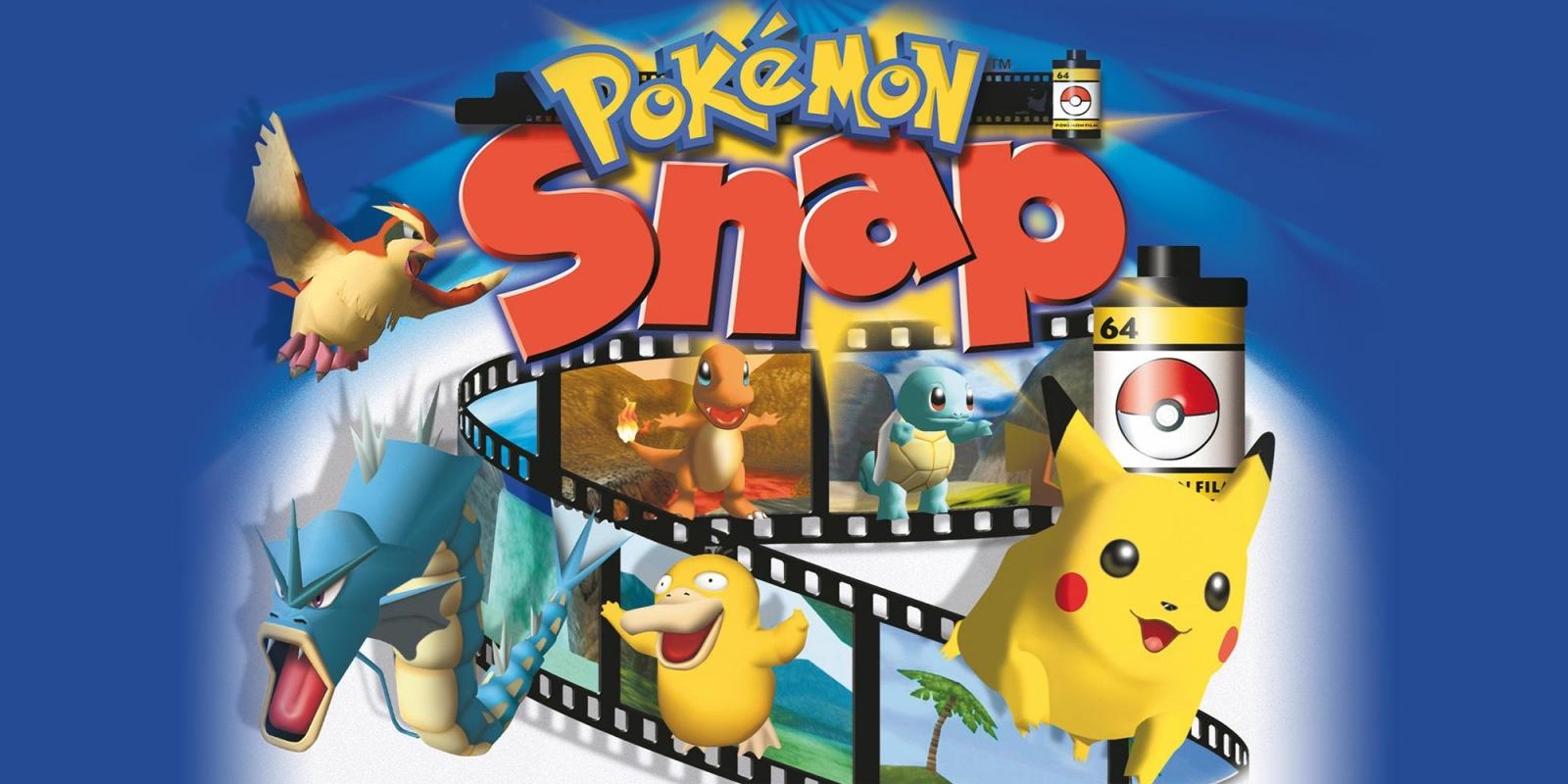 Pokemon Snap Wii U Virtual Console