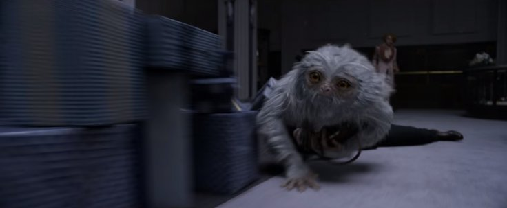 Demiguise in Fantastic Beasts