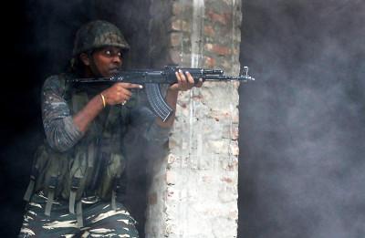 India gunfight