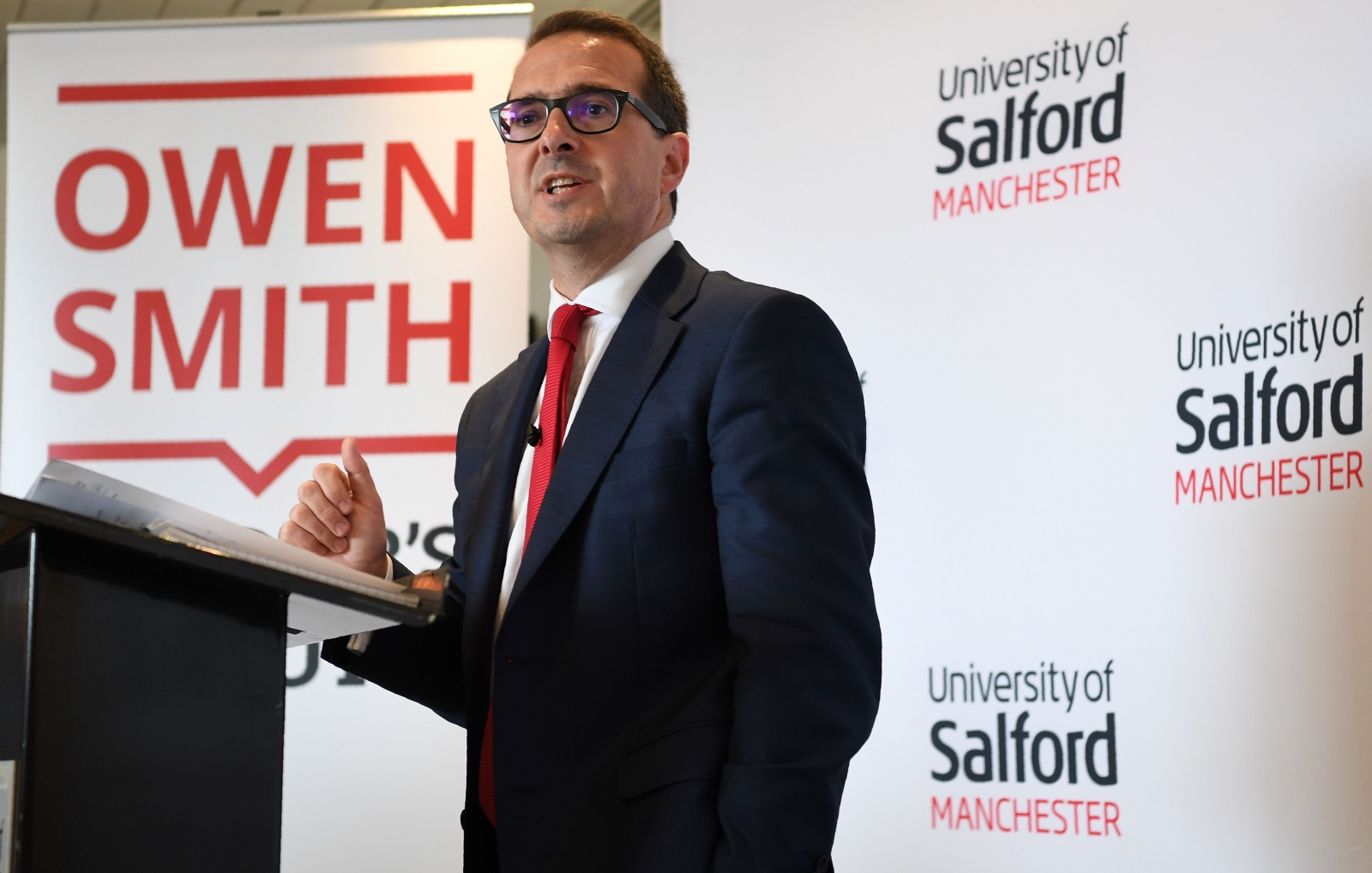 Owen Smith talks about the NHS