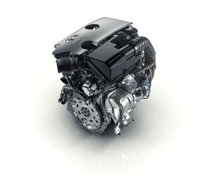 Infiniti Nissan variable compression engine revolution