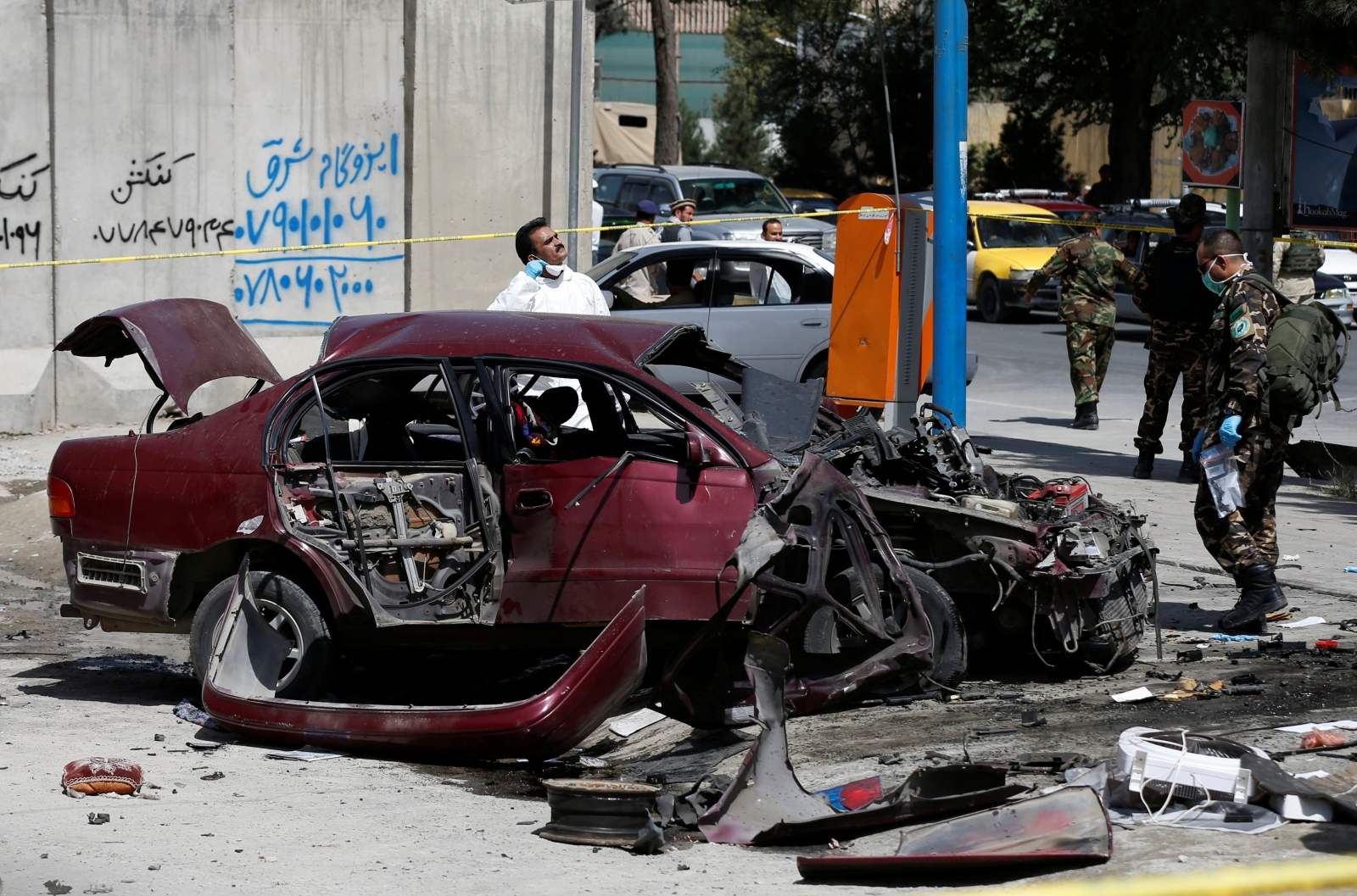 Bomb blast Kabul