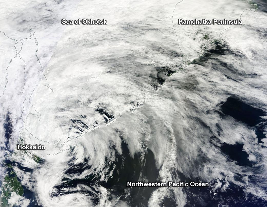 NASA satellite cyclone
