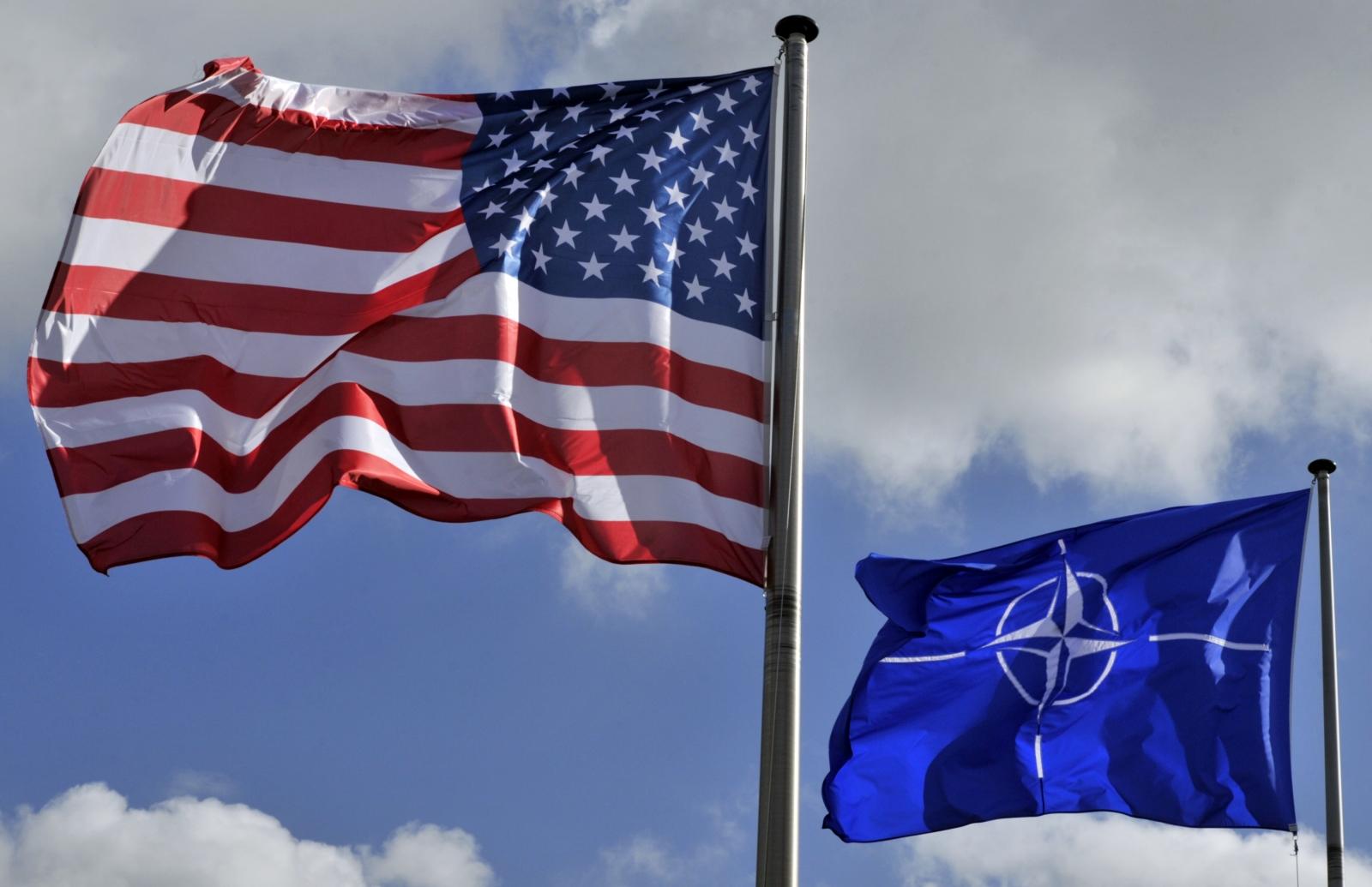 US Nato flag