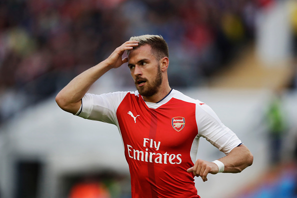 Aaron Ramsey: Arsenal Injury News: Aaron Ramsey To Miss Leicester City