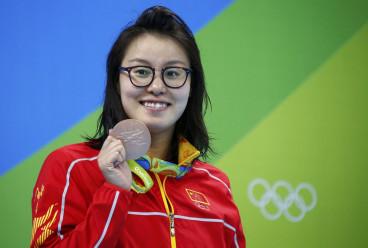 Chinese swimmer Fu Yuanhui
