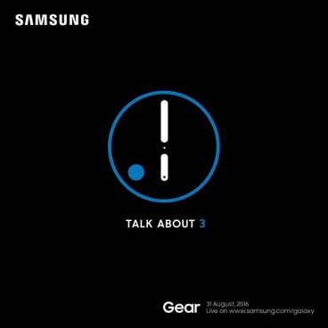 Samsung Gear S2 invitation