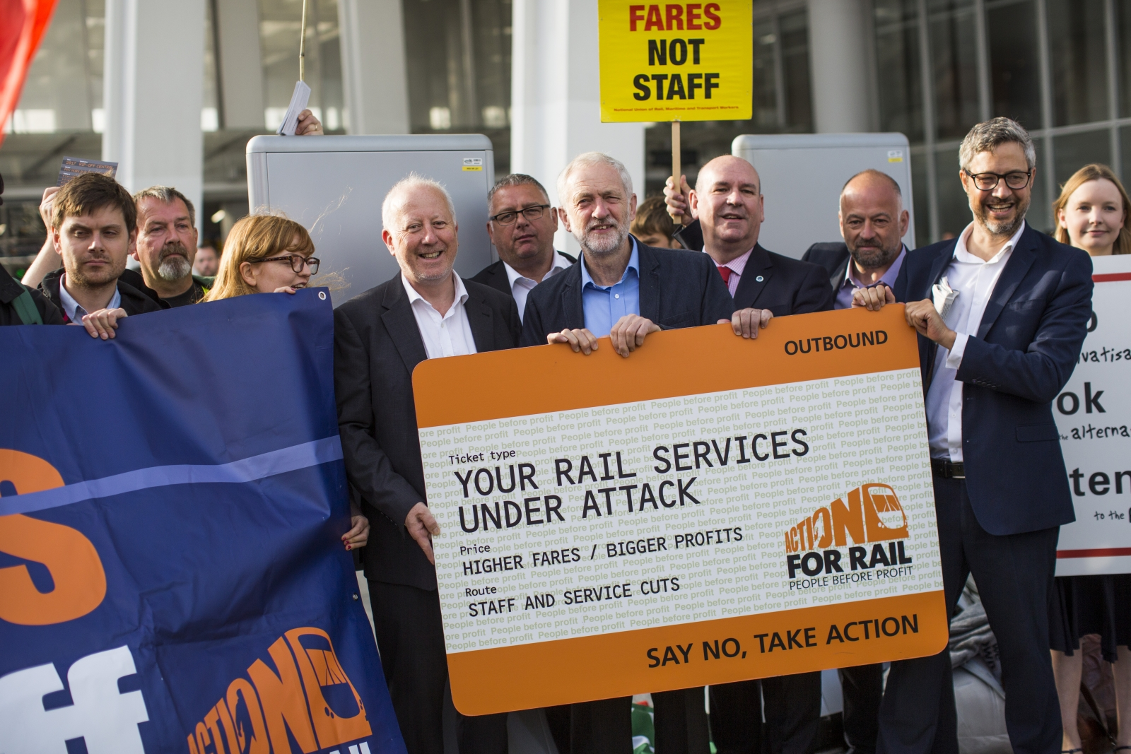 Jeremy Corbyn calls for railways to be renationalised as ticket fares rise 1.9%