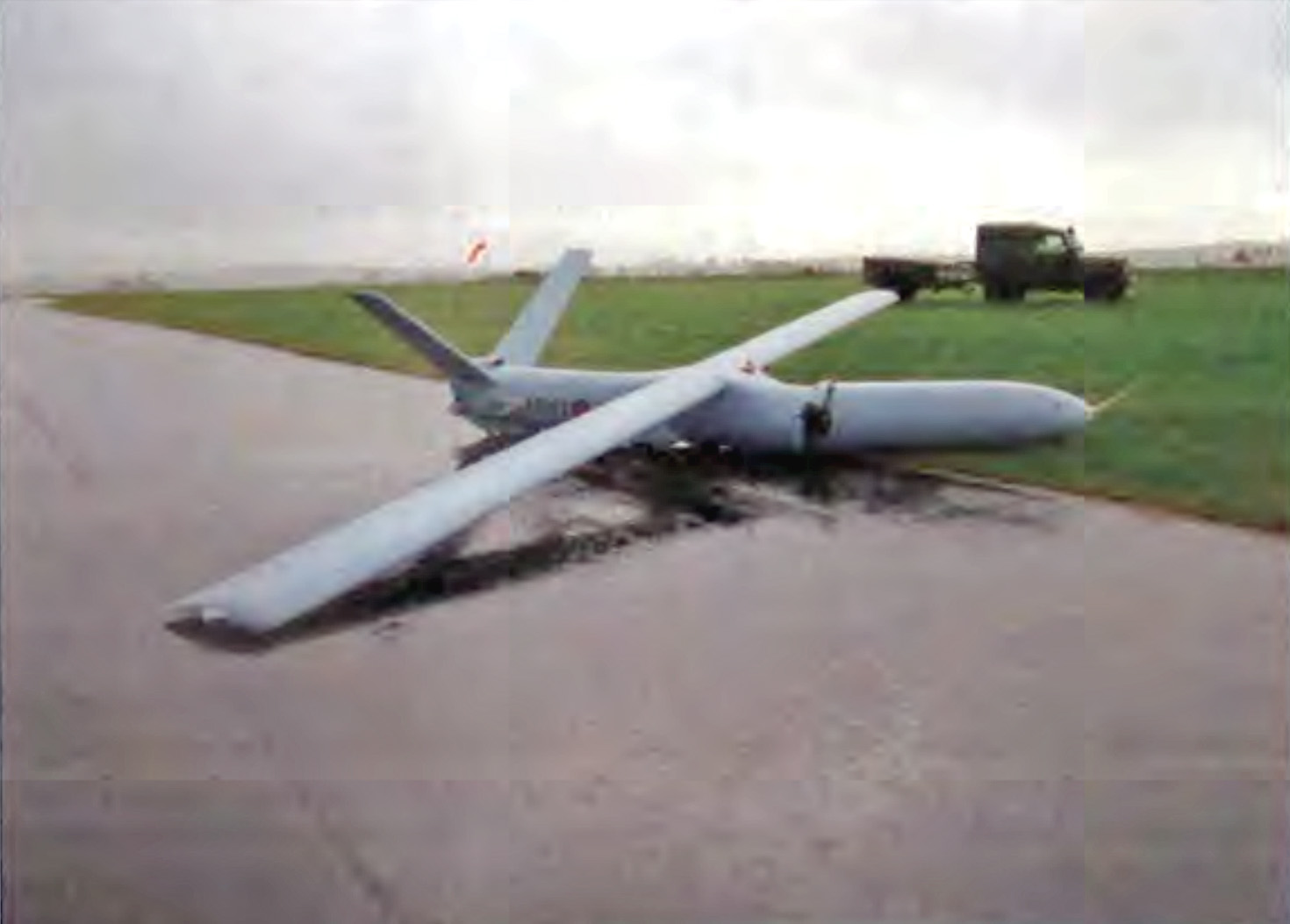 Watchkeeper drone crash