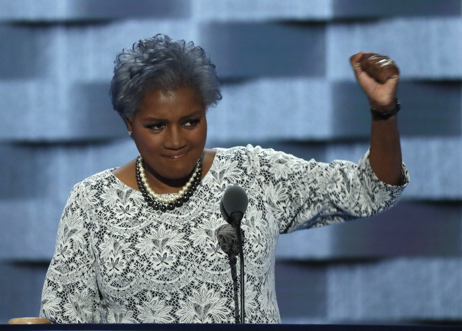 Donna Brazile, acting chairwoman of the DNC