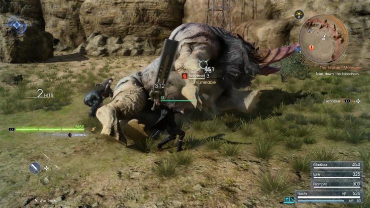 Final Fantasy 15 monster