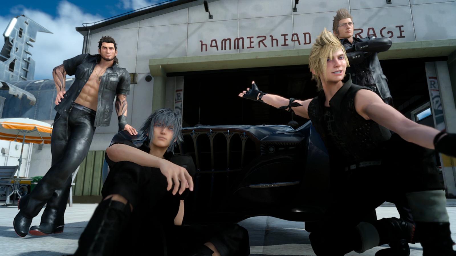 Image result for Final Fantasy 15 selfie