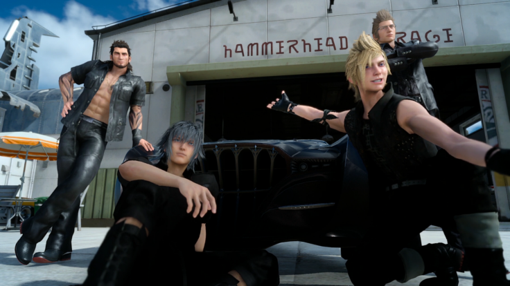 Final Fantasy 15 group selfie