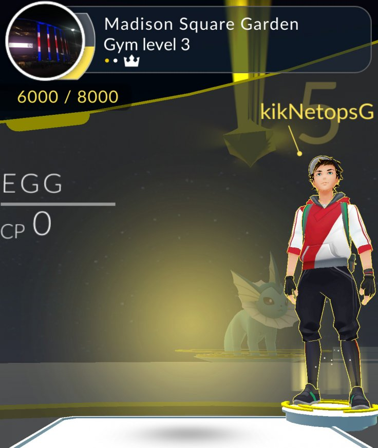 Pokemon Go hacked so egg guards gym