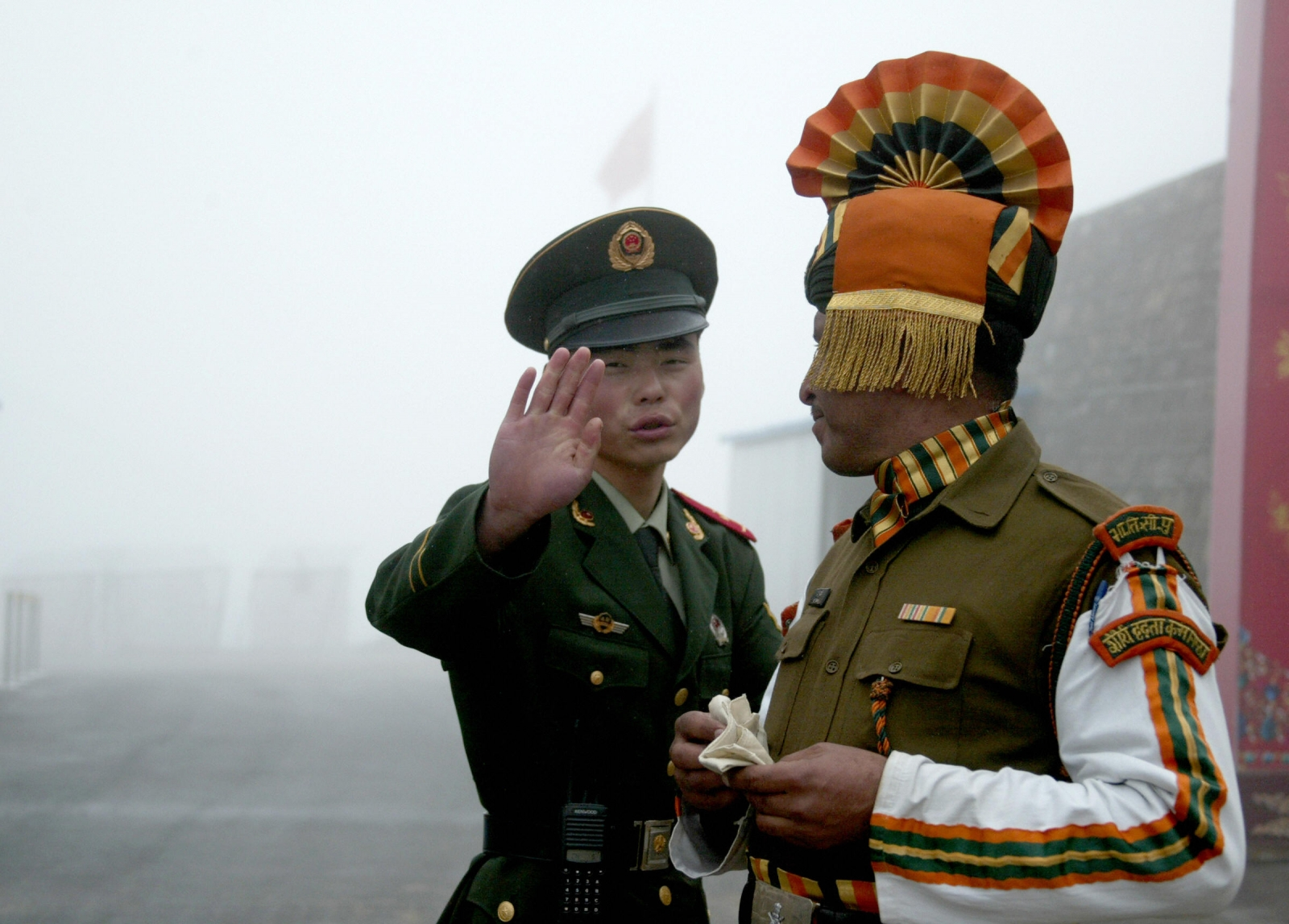 Indo-China border