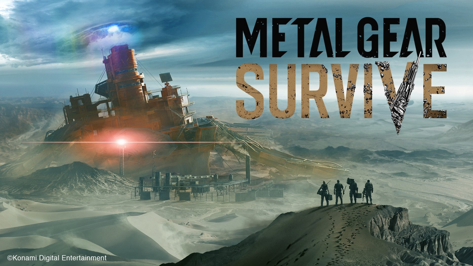 Metal Gear Survive main