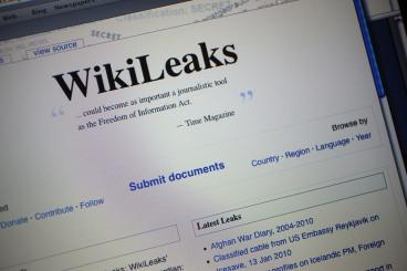 WikiLeaks Homepage