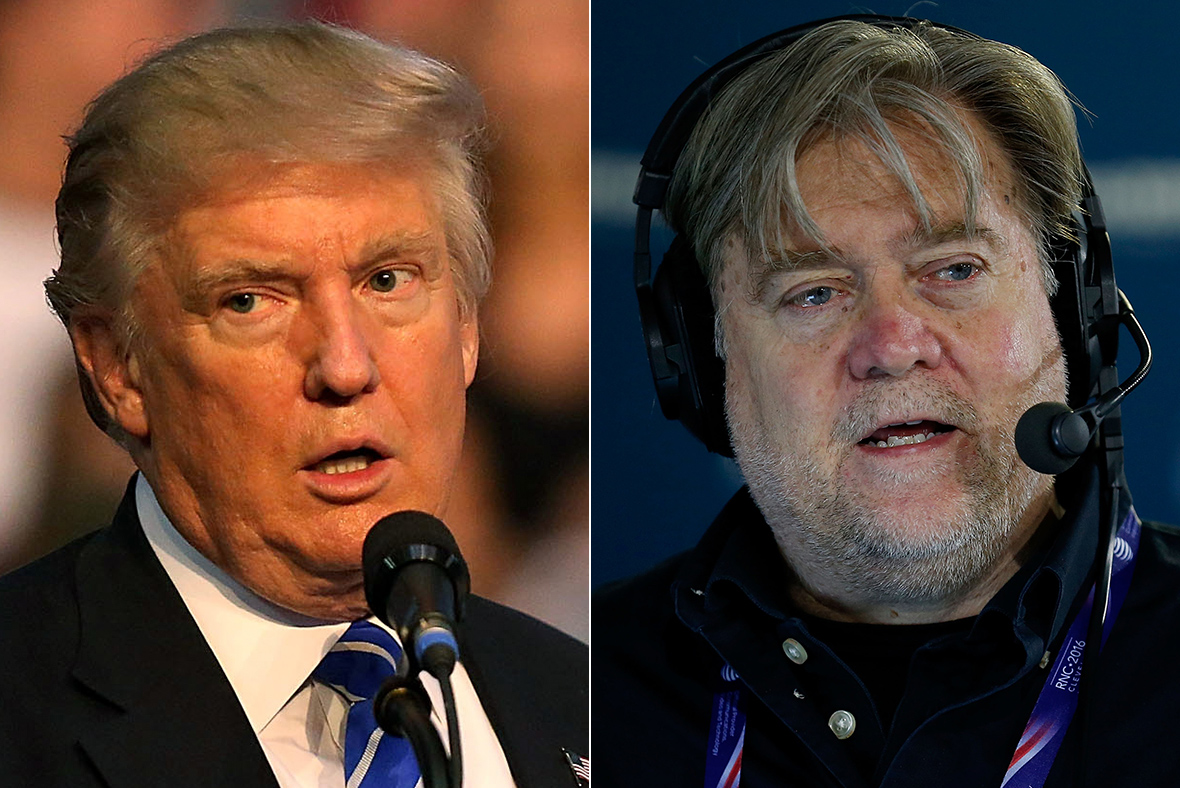 Image result for stephen bannon donald trump
