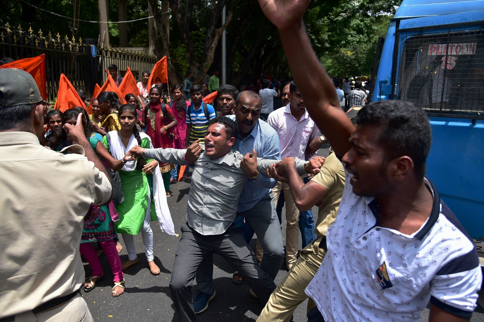 No let-up in anti-Amnesty protests by ABVP in Karnataka