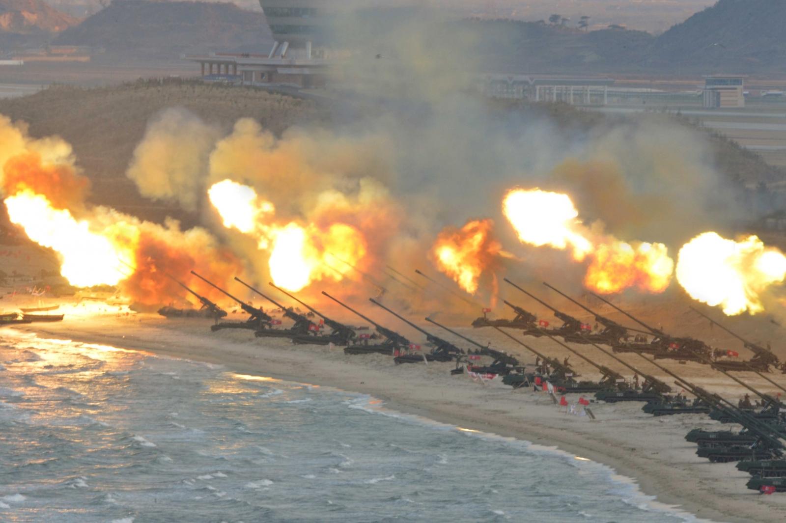 South Korea drill North Korea threat