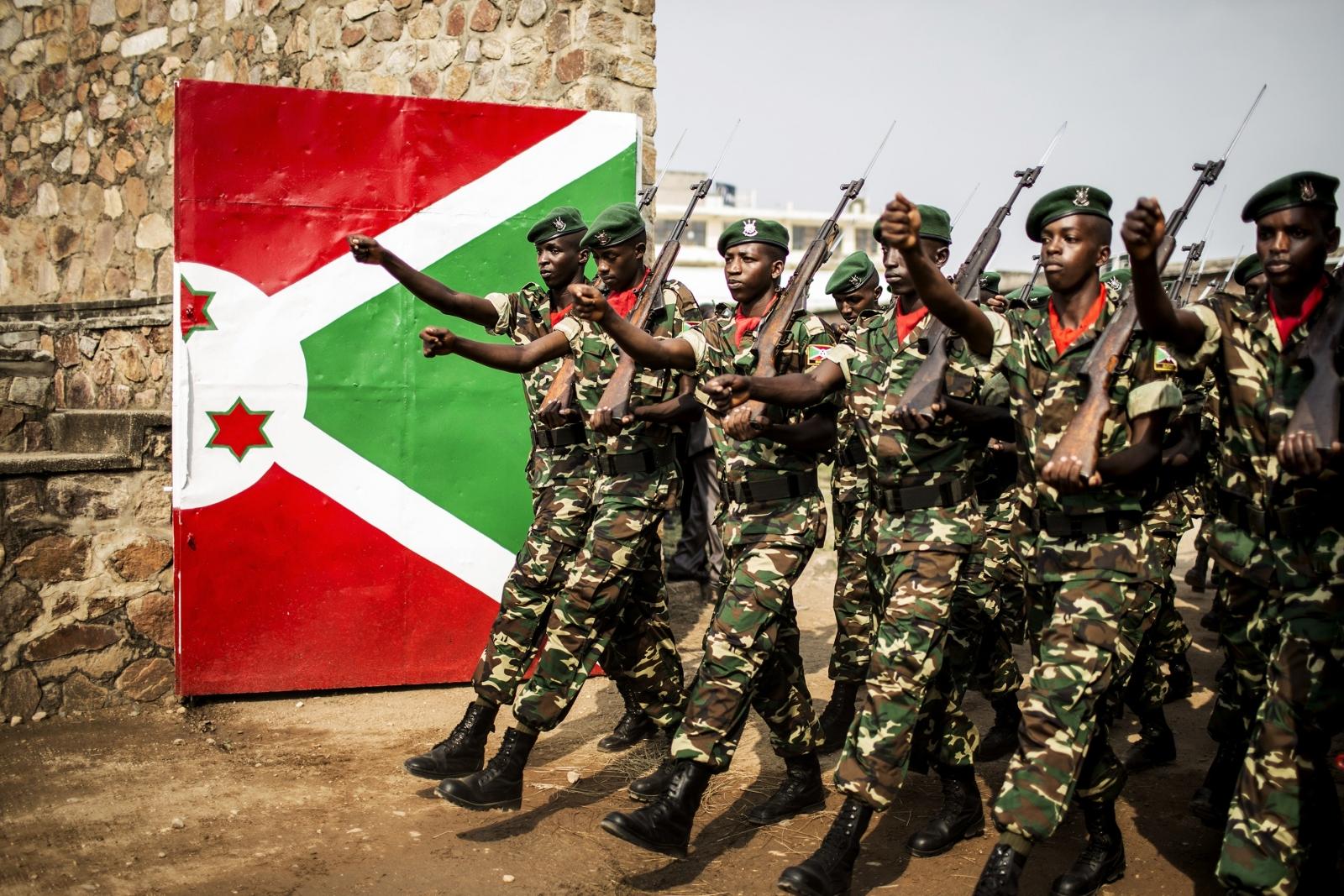 Burundi armed forces