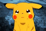 Pokemon anime pikachu sad