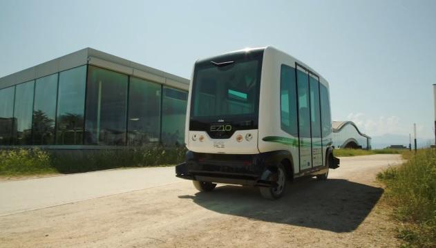 EasyMile bus