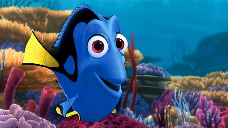 Dory the fish from Disney's Finding Dory