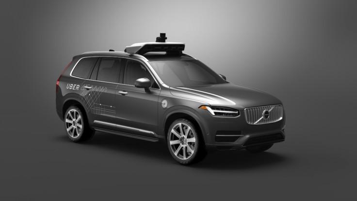 Autonomous Uber Volvo XC90