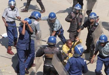 Zimbabwe police brutality