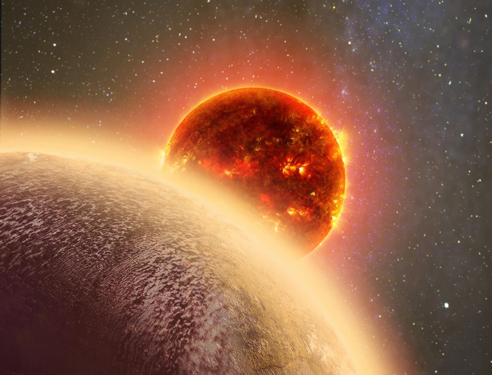 Venus-like exoplanet
