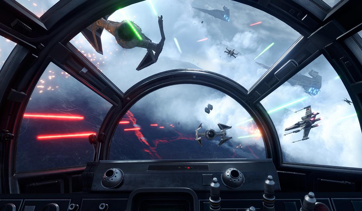 Star Wars Battlefront VR X-Wing