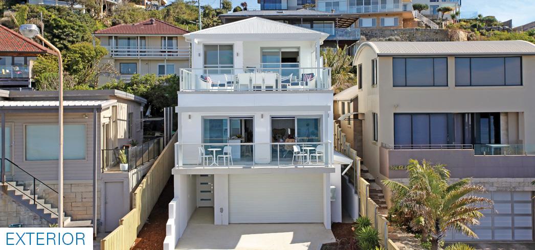 beachfront house Sydney