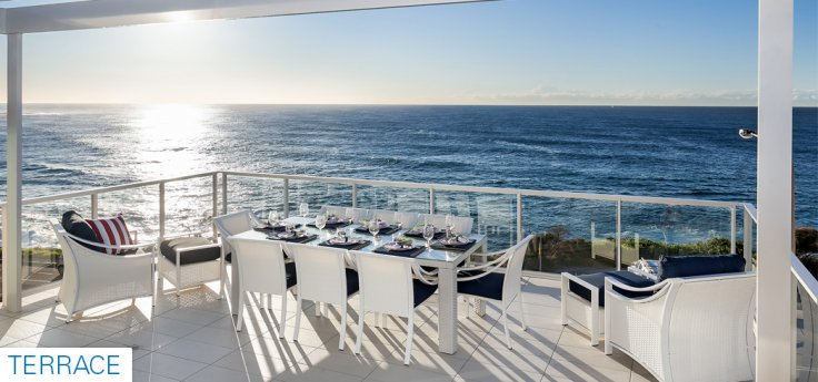 Sydney beachfront house